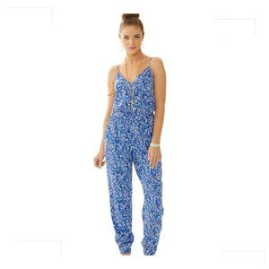 Lilly Pulitzer Melba Jumpsuit Chasing Tail M